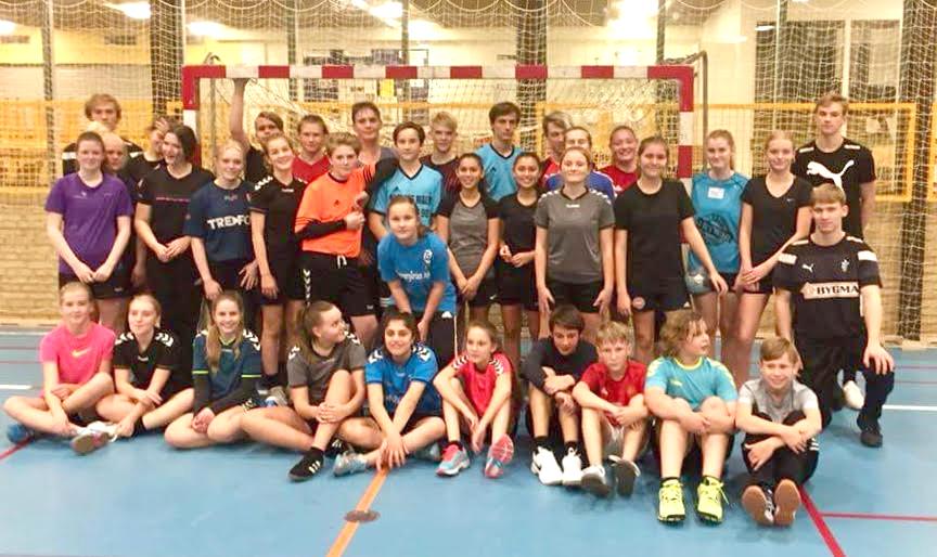 Håndbold træning i IF Svend Gønge i Lyndby / Køng
