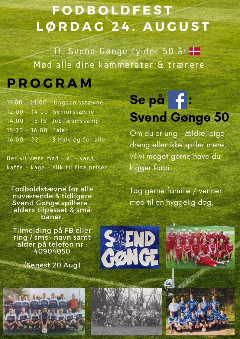 IF Svend Gønge Fodboldfest 24. august 2019